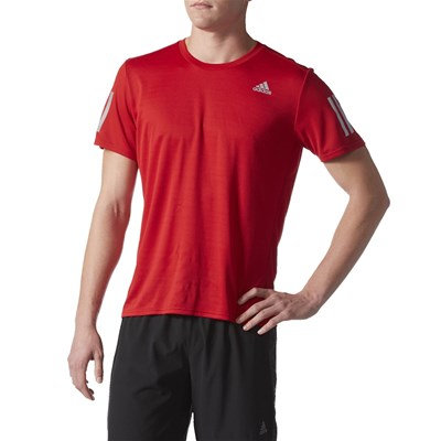 Adidas Performance t-Shirt manches courtes - rouge