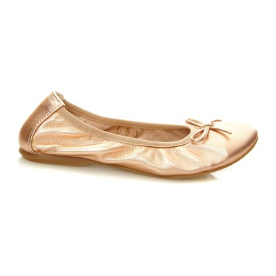 Veridiana - Ballerines en cuir - rose