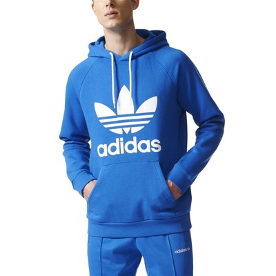 Adidas Originals sweat à capuche - bleu