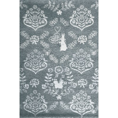 Art For kids tapis enfant - gris