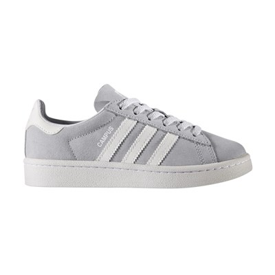 Adidas Originals campus - baskets en cuir mélangé - gris