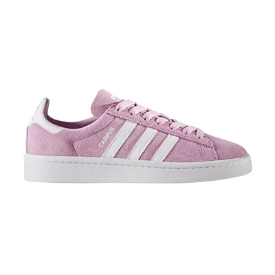 Adidas Originals campus - baskets en cuir mélangé - rose