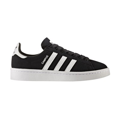 Adidas Originals campus - baskets en cuir mélangé - noir