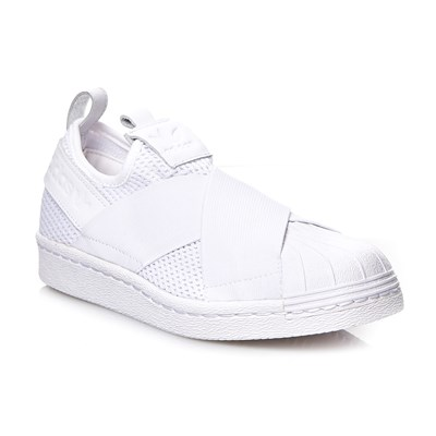 Adidas Originals superstar slipon w - baskets - blanc