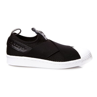 Adidas Originals superstar slipon w - baskets - noir