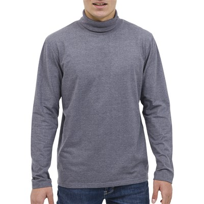 Oxbow Ronpe - tshirt col roulé - gris