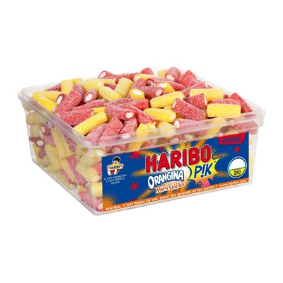 Haribo 250 mini sticks orangina pik