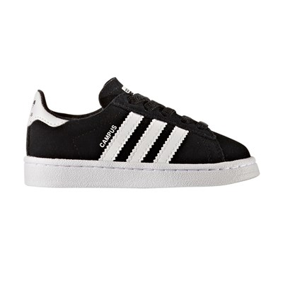 Adidas Originals campus - baskets en cuir - noir