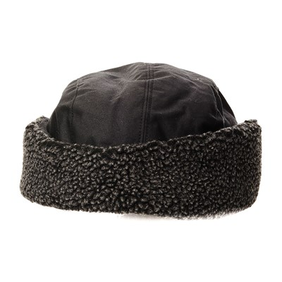 BARBOUR Bonnet cache-oreille - noir