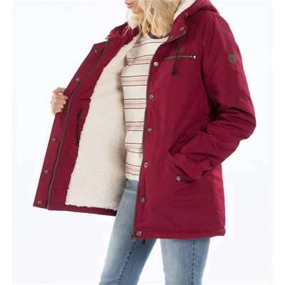 Billabong Facil iti - parka - bordeaux