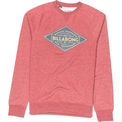 Billabong Bogus crew - sweat-shirt - rouge