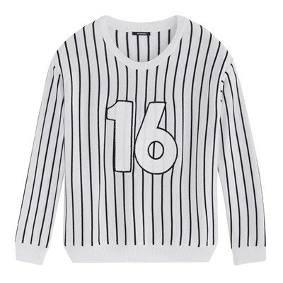 PROMOD Number - Sweat-shirt - blanc