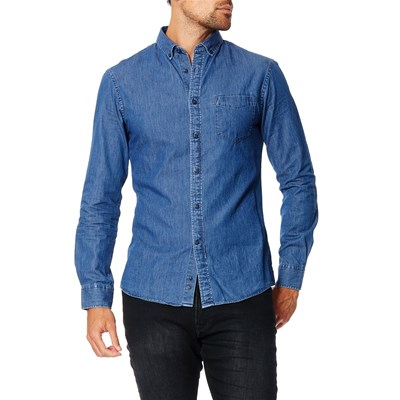 Celio Chemises - denim bleu