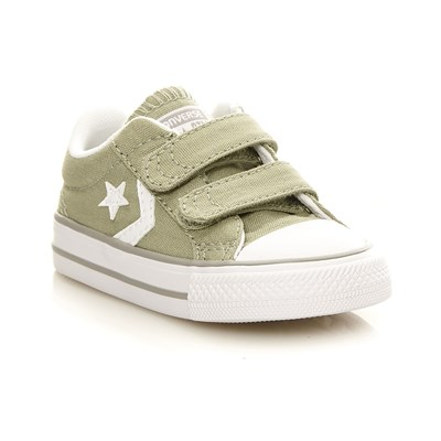 Converse Star player 2v ox - baskets - vert clair