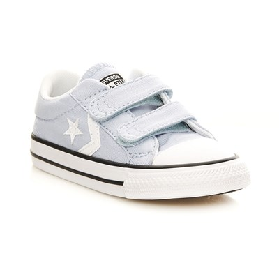 Converse Star player 2v ox - baskets - bleu ciel