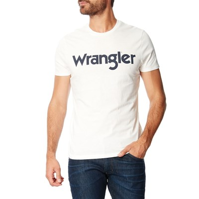 Wrangler T-shirt manches courtes - blanc