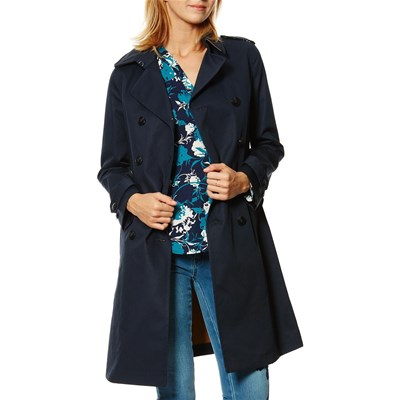 Benetton Forme trench, imperméable : trench - bleu marine