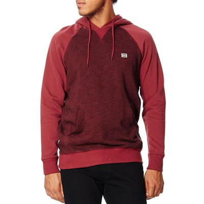 Billabong Balance pullover - sweat à capuche - rouge