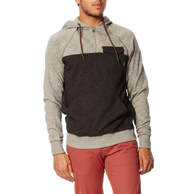 Billabong Balance half zip - sweat à capuche - marron