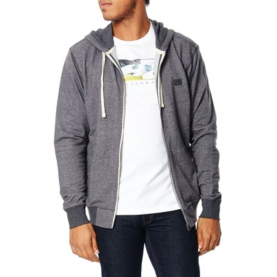 Billabong All day zip up - sweat à capuche - gris foncé