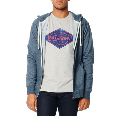 Billabong All day zip up - sweat à capuche - bleu