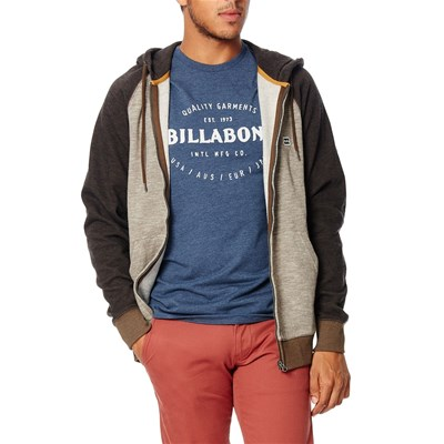 Billabong Balance zip up - sweat à capuche - marron