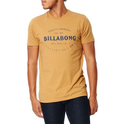 Billabong Brewery tee ss - t-shirt manches courtes - moutarde