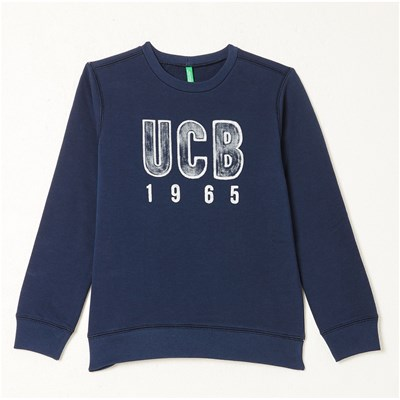 Benetton Sweat-Shirt - bleu marine