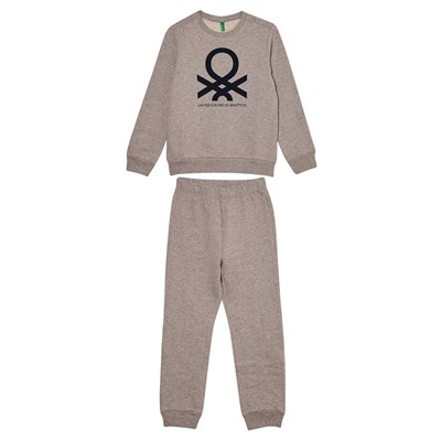 Benetton Ensemble sport - gris