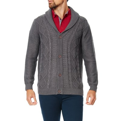 Best Mountain cardigan - gris chine