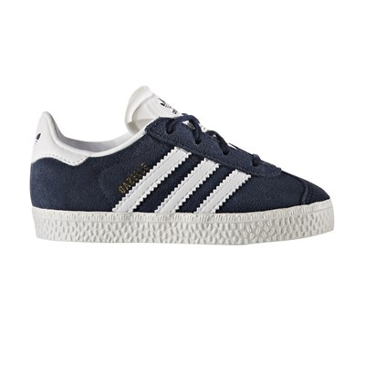 Adidas Originals gazelle - baskets en cuir - bleu marine