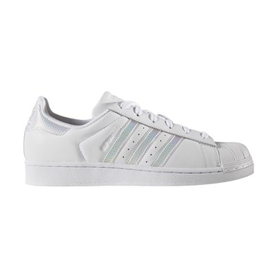 Adidas Originals superstar - baskets en cuir mélangé - blanc