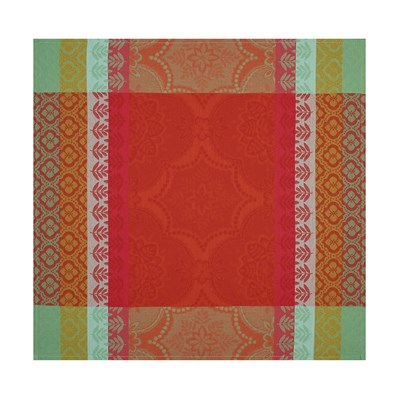 Le Jacquard français bastide - serviette de table - rouge