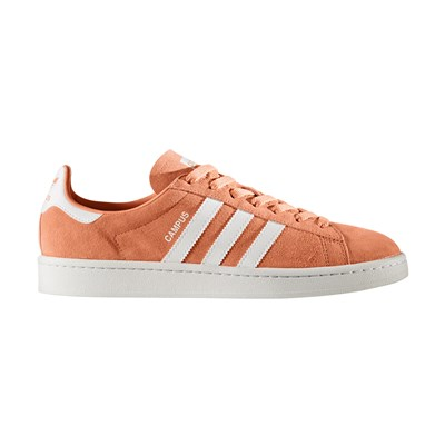Adidas Originals campus - baskets en cuir - orange