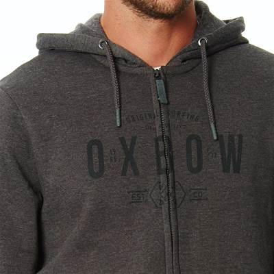 OXBOW Selkirk - Sudadera con capucha - gris oscuro
