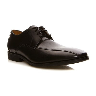 Clarks Gilman mode black leather - derbies en cuir - noir