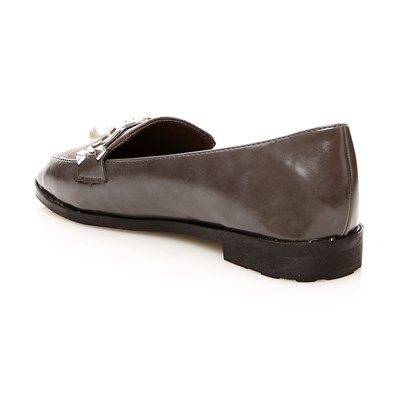R AND BE Mocassins - gris
