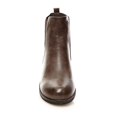 R AND BE Boots, Bottines - gris