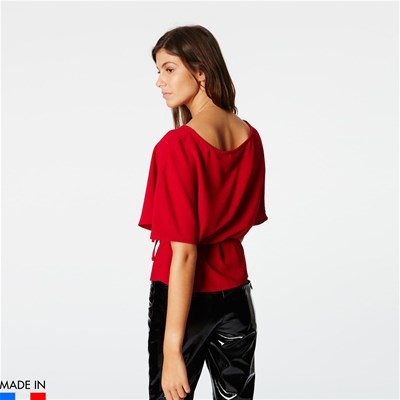 BRANDALLEY LA COLLECTION Tania - Bluse - rot