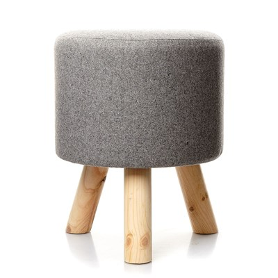 Home And styling tabouret - gris