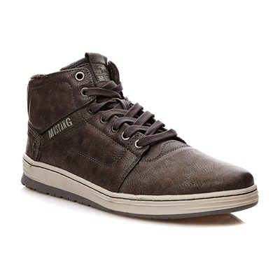 Mustang Baskets montantes - gris