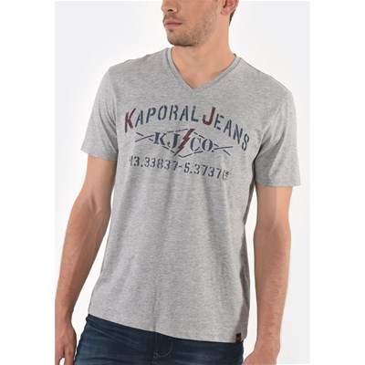 Kaporal Makao - t-shirt manches courtes - gris