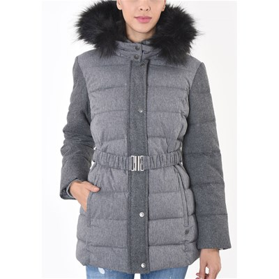 Kaporal Begin - Manteau casual - anthracite