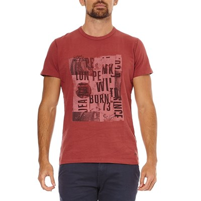 Pepe Jeans London Lewis - T-shirt manches courtes - rouge