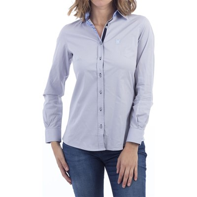 Polo Club Camisa casual - gris