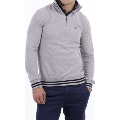 Polo Club Jersey - gris