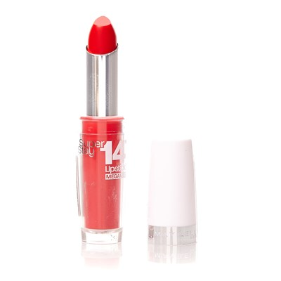 Gemey Maybelline 14 lipstick megawatt - rouge à lèvres - 575 red rays