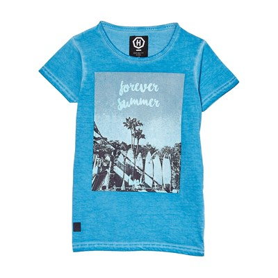 Hope N life t-Shirt manches courtes - turquoise