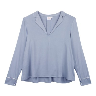 Paris Blouse Soi Soi Paris Ciel Bleu qHqfE0