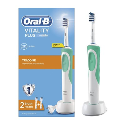 oral b duo pack vitality trizone et dual clean 8 brossettes 2 dentrifrices brandalley. Black Bedroom Furniture Sets. Home Design Ideas